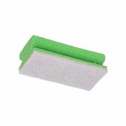 Schuurspons wit/groen
