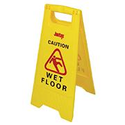 Bord ?Caution Wet floor?