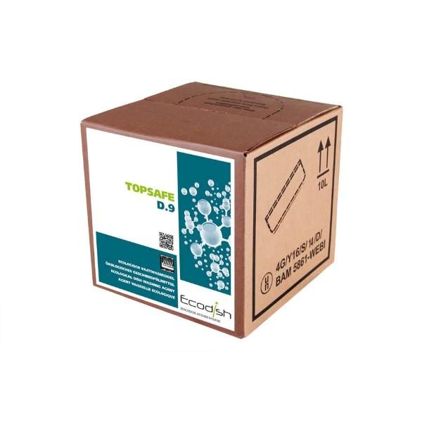 Topsafe D.9 Hoogconcentraat ecologisch vaatwasmiddel.
