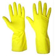 Huishoudhandschoen M - geel