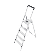 Hailo aluminium trap met 5 treden