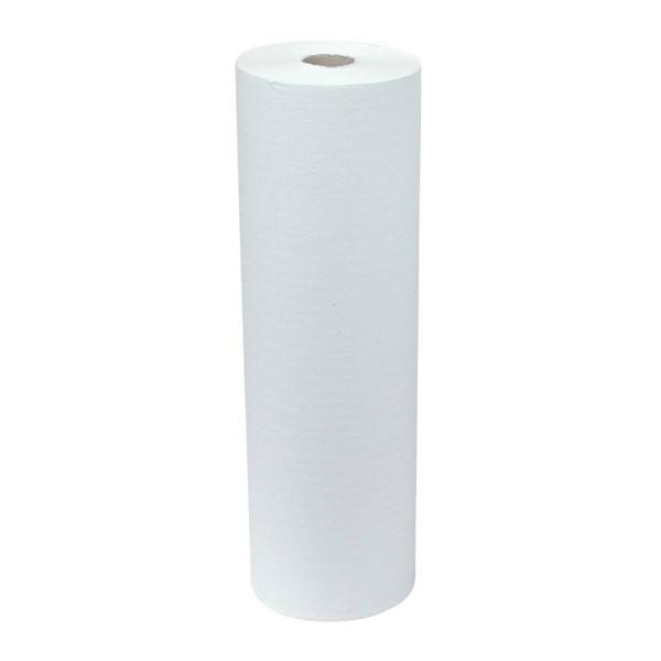 Onderzoektafelpapier recycled 150mx40cm. 1-laags doos van 5 rollen
