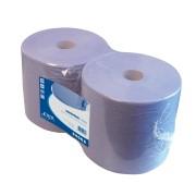 Industriepapier blauw recyled 380mx26cm. 2-laags