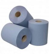 Midi rol blauw 20cmx300m. 1-laags verpakking van 6 rol