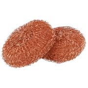 Schuurspons / pannenspons koper 25 gr (per stuk)