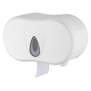 Toiletroldispenser traditioneel 2-rol