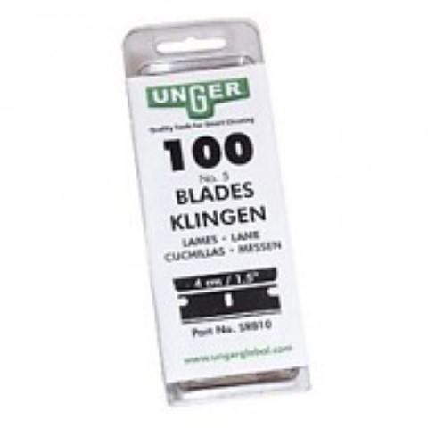 Mesjes voor veiligheidsschraper 4 cm (100 stuk)