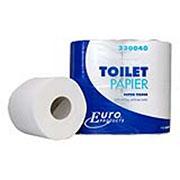 Toiletpapier traditioneel cellulose 2 lgs 400 vel 10 x 4 rol