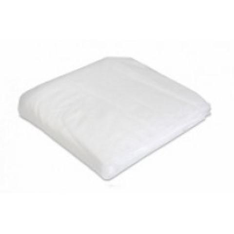 Ecolab stofwisdoek poly 18grams wit. 40x25cm. Pak van 100st.