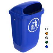Afvalbak DIN-PK 50 ltr