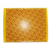 Universeel lijmbord klein plastic (geel)