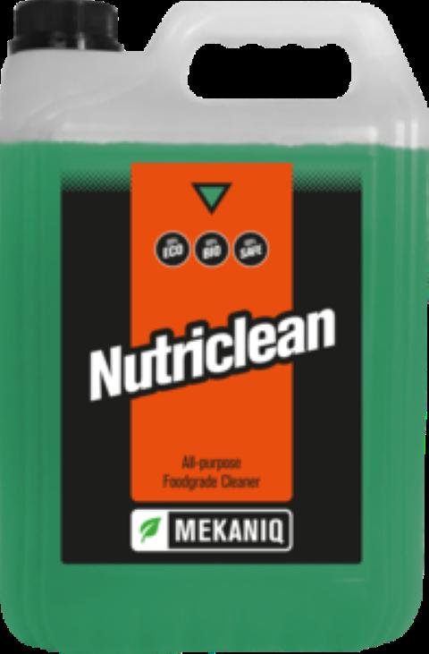 Nutriclean foodgrade allesreiniger 5ltr.