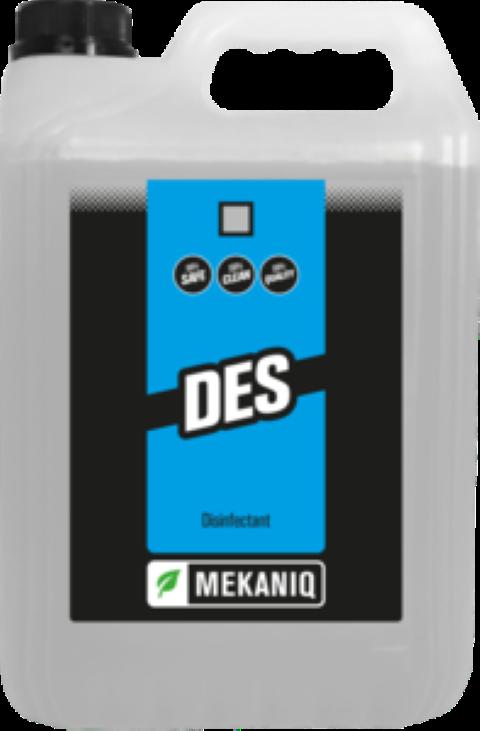DES 100% effectieve desinfectant 5ltr.