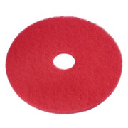 Vloerpad rood 17 inch