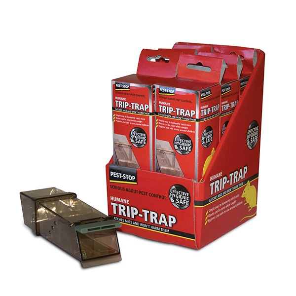 Trip-Trap MouseTrap Boxed  6 per display