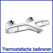 Thermostatische badkranen