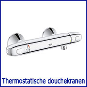 Thermostatische douchekranen