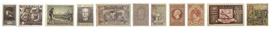 Insulinde Den Haag Postzegels