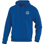Hooded sweater blauw junior