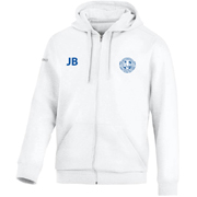 Hooded sweater wit junior met initialen