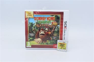 Donkey Kong Country Returns 3D- Select