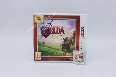 Legend of Zelda ocarina of time 3ds -Select