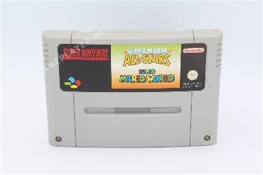 Super mario All Stars & Mario  World