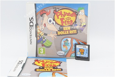 Phines and Ferb een Dolle Rit