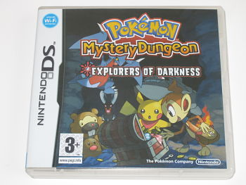 Pokemon Mystery Dungeon Explores of Darkness