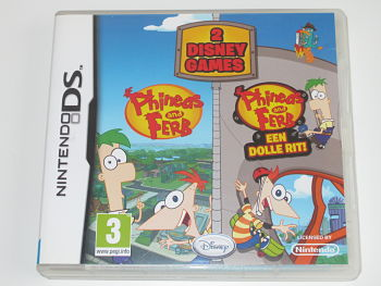 2 Disney Games Phineas and Ferb & Phineas and Ferb een dolle rit