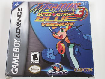 Megman Battle Network 3 Blue Version