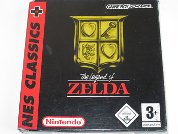 Legend of Zelda Nes Classics