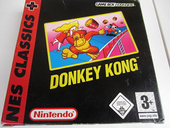 Donkey Kong -Nes Classics