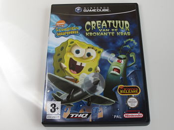 Spongebob Creatuur van de Krokante Krab