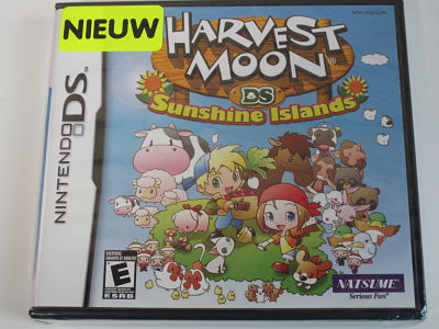 Harvest moon Sunshine Island
