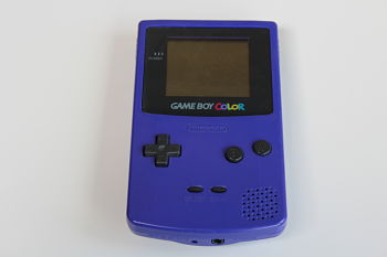 Gameboy Color Purple