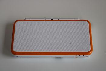 New Nintendo 2DSXL White/Orange