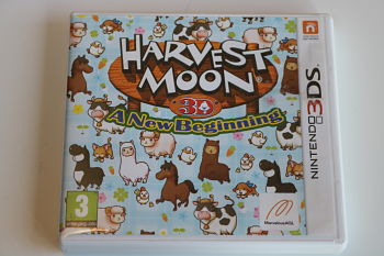 Harvest Moon a new beginning