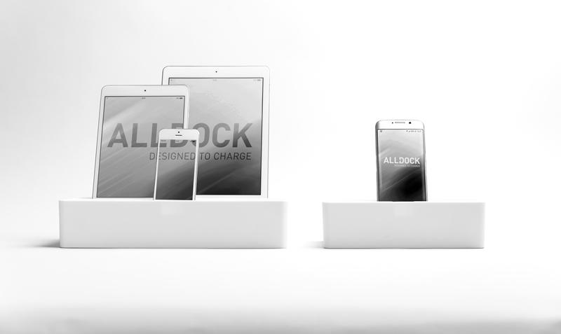 ALLDOCK white medium