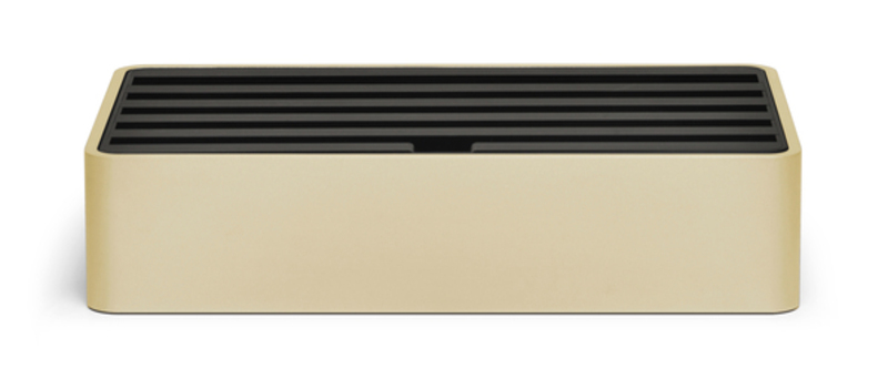 <strong>70% DISCOUNT </strong>ALLDOCK large aluminium gold with black