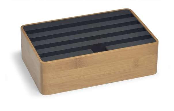 ALLDOCK bamboo/black medium