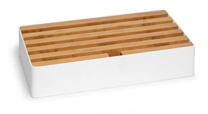 ALLDOCK white/bamboo large