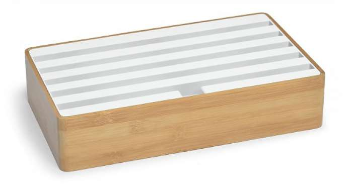 ALLDOCK bamboo/white large