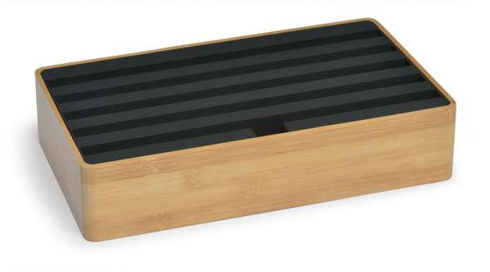 ALLDOCK bamboo/black large