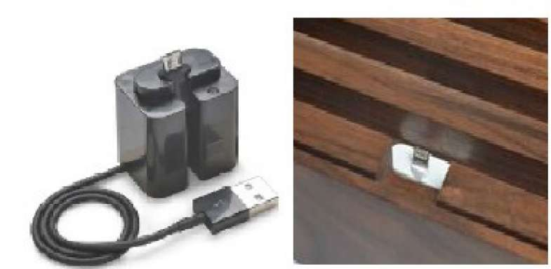 ALLDOCK adapter black, with micro USB cable