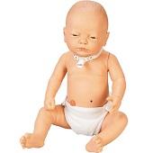Verpleegkunde pop baby, jongen