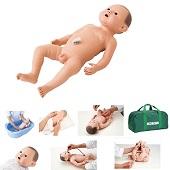 Baby oefenpop jongen (48 cm)