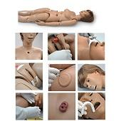 Verpleegkunde pop (luxe model 1,60 m)