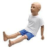 Verpleegkunde pop (5-jarig kind 1,10 m)