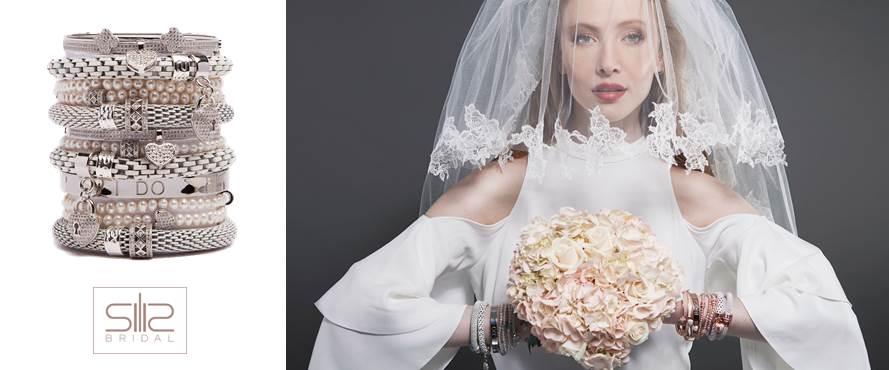 Silis Bracelets Collection Bridal | Bracelet Wedding Dress | Armband Bruidsjurk
